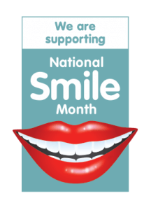 We are supporting National Smile Month